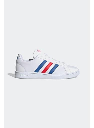 adidas Grand Court Base Erkek Günlük Ayakkabısı Ee7901 Renkli